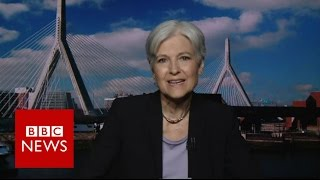 Download Jill Stein: ″I am the only candidate that is not controlled by predatory banks″ BBC News Video