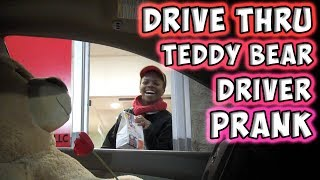 Download Drive Thru Teddy Bear Driver Prank Video