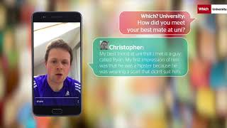 Download Fashion Faux Pas: How Christopher met his best mate at uni | Which? University Video