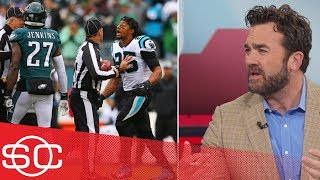 Download Malcolm Jenkins, Eric Reid altercation starts off Panthers' win over the Eagles | SportsCenter Video