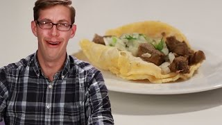 Download Americans Try REAL Street Tacos Video