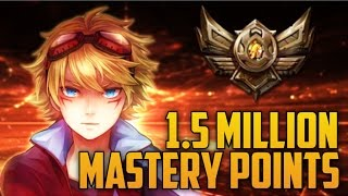 Download BRONZE 4 Ezreal 1,500,000 MASTERY POINTS- Spectate 2nd Highest Mastery Points on Ezreal Video