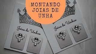 Download MONTANDO MINHAS JOIAS DE UNHA | RÁPIDO E FÁCIL Video