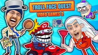 Download SUPER TROLLARIO BROTHERS! Hilarious Trollface Quest Video Games 2! FGTEEV Funny Meme Gameplay Video