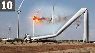 Download TOO MUCH WIND! 10 Wind Turbine Fails Video