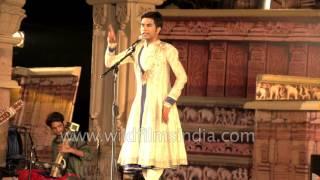 Download Kathak solo by Sandip Mallick: Khajuraho Dance festival Video
