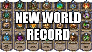 Download [New World Record] 28 Different Hero Powers in 1 Turn - Hearthstone Video