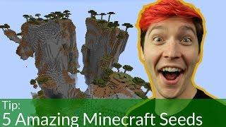 Download 5 Amazing Minecraft Seeds Video