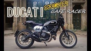 Download Ducati Scrambler Cafe Racer - Fast road test / review Video