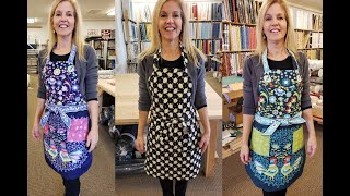Download All About Aprons!!! Easy at Home Sewing Project from Jordan Fabrics Video