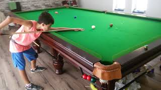 Download Constantino Snooker practice clearing the colours Video