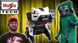 Download TRANSFORMER RIPOFF : Maisto Tech R/C Street Trooper | Toy Chest Video