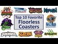 Download Top 10 Favorite Floorless Coasters Video