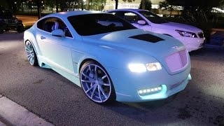 Download WhipAddict: Yo Gotti's CMG Tiffany Edition Bentley Continental GT on F2.01 ECX Forgiatos Custom Wrap Video