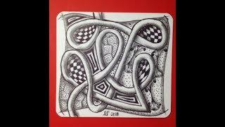 zentangle art for beginners || Doodle patterns || Zen-doodle Free