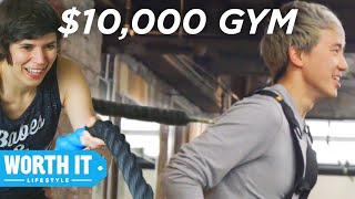 Download $40 Gym Vs. $10,000 Gym Video