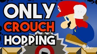 Download Is it Possible to Beat New Super Mario Bros. Wii While Permanently Crouching, and Without Power Ups? Video