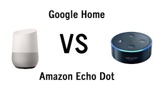 Download Google Home vs Amazon Echo Dot - Side by Side Comparison Video