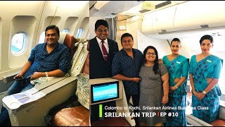 Download Colombo to Kochi, Srilankan Airlines Business Class Journey Video