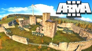 Download Arma 3 Wasteland – BUILDING THE BIGGEST CASTLE BASE!!! | Arma 3 Gameplay! 24 Hour Stream Part 7 Video