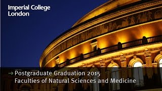 Download Postgraduate Graduation 2015: Faculties of Natural Sciences and Medicine Video