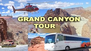 Download GRAND CANYON TOUR - Skywalk, Guano Point, Hoover Dam, Helicopter and Boat Trip 4K Video