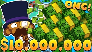 Download HOW TO MAKE $15,000,000 (HIGHEST ROUND EVER)! - BLOONS TOWER DEFENSE BATTLES (BTD BATTLES) Video