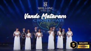 Download Vande Mataram - Shillong Chamber Choir (Grand Premiere KBC 8) Video