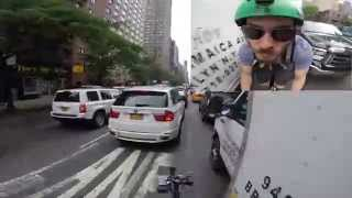 Download NYC biker Death Wish crash GoPro New York City Video