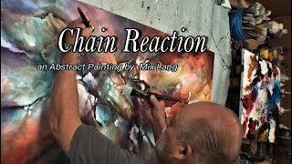 Download Mix Lang Painting Demo. Fractured Design, Chain Reaction, Acrylic Video