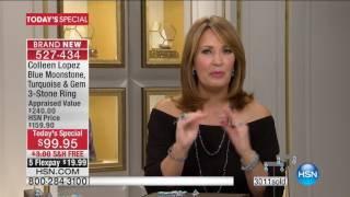 Download HSN | Colleen Lopez Gemstone Jewelry 02.15.2017 - 12 PM Video