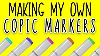 Download MAKING COPIC MARKER COLORS FROM SCRATCH Video