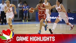 Download Poland v Turkey - Game Highlights - Group B - EuroBasket Women 2015 Video