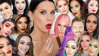 Download FULL FACE USING PRODUCTS that BEAUTY GURUS MADE ME BUY Video