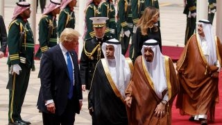 Download President Trump formally greeted in Saudi Arabia Video