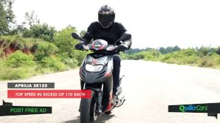 Download 7 Interesting Facts About Aprilia SR150 | QuikrCars Video