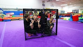 Download BROTHERS TRY TO ESCAPE GIANT CAGE IN LESS THAN 10 MINUTES! Video