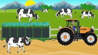 Download ☻ Farmer | Farm Works - Buy Cattle | Cow | Praca Rolnika - Wyprawa Po Krowy .Bajki ☻ Video