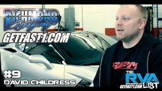 Download #9 David Childress Garage Interview for The RVA List ″The Fastest Street Cars In Virginia″ Video