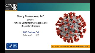 Download CDC Business Sector Call for COVID-19 – February 21, 2020 Video