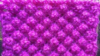 Download Knitting Design #71# (Hindi) Bubble knitting design Video