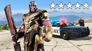 Download Playing as THANOS in GTA 5! (Avengers Endgame) Video