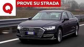 Download Nuova Audi A8: la prova su strada | Quattroruote Video