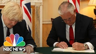 Download Rex Tillerson Expresses Condolences, Outrage At Manchester Attack: 'ISIS Worships Death' | NBC News Video