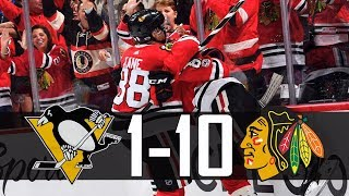 Download Blackhawks vs Penguins | 10-1 | Highlights (Oct. 5, 2017) [HD] Video