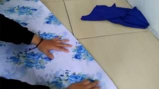 Download DIY jilbab / How to make hijab / tutorial membuat kerudung kombinasi sendiri Video