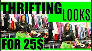 Download THRIFTING LOOKS FOR 25$! Video