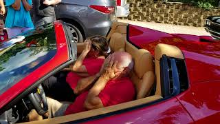 Download Surprising dad with a Ferrari. Video