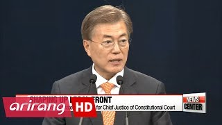 Download President appoints Chief Justice of Constitutional Court and head of Seoul Prosecutors office Video
