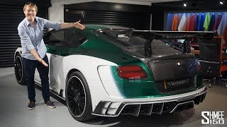 Download THIS is a Beast of a Bentley! Mansory GT Race Video